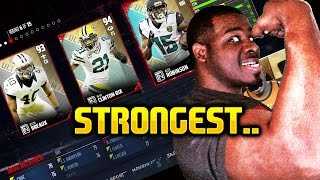 Strongest player draft champs hes stronger than a superhero wtf madden 17 !!! madden nfl 17