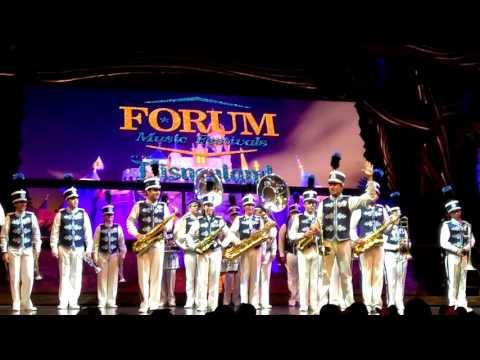 2017 Disneyland Band performs at Forum Music Festival inside Fantasyland theater