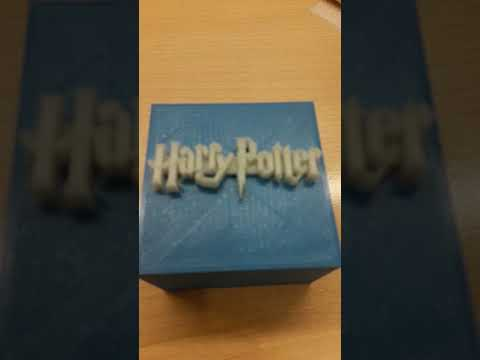 Harry Potter music BOX  3D printed