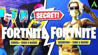 2 * SECRET * Bundls you didn't know in Fortnite..