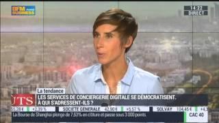 Conciergerie 2.0: Quatre Epingles sur BFM TV dans l'émission Goût de luxe Paris