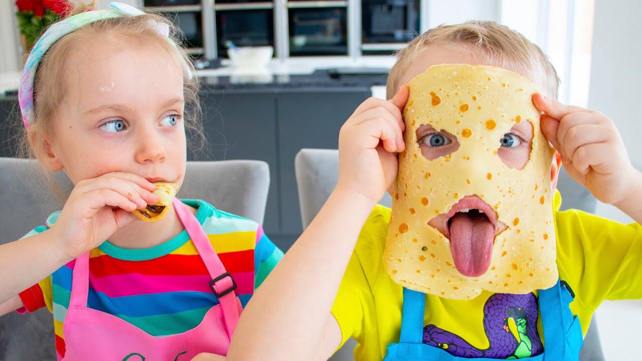 Gaby and Alex - Pancake story