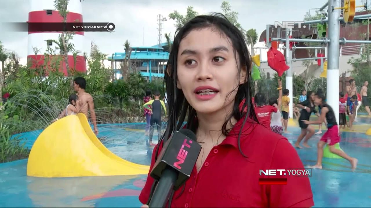 Net Yogya Jogja Bay Waterpark Destinasi Wisata Baru Kota Yogyakarta Youtube
