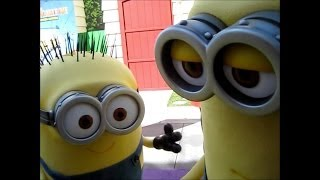 Despicable Me Minion Mayhem Grand Opening 2014 Universal Studios Hollywood
