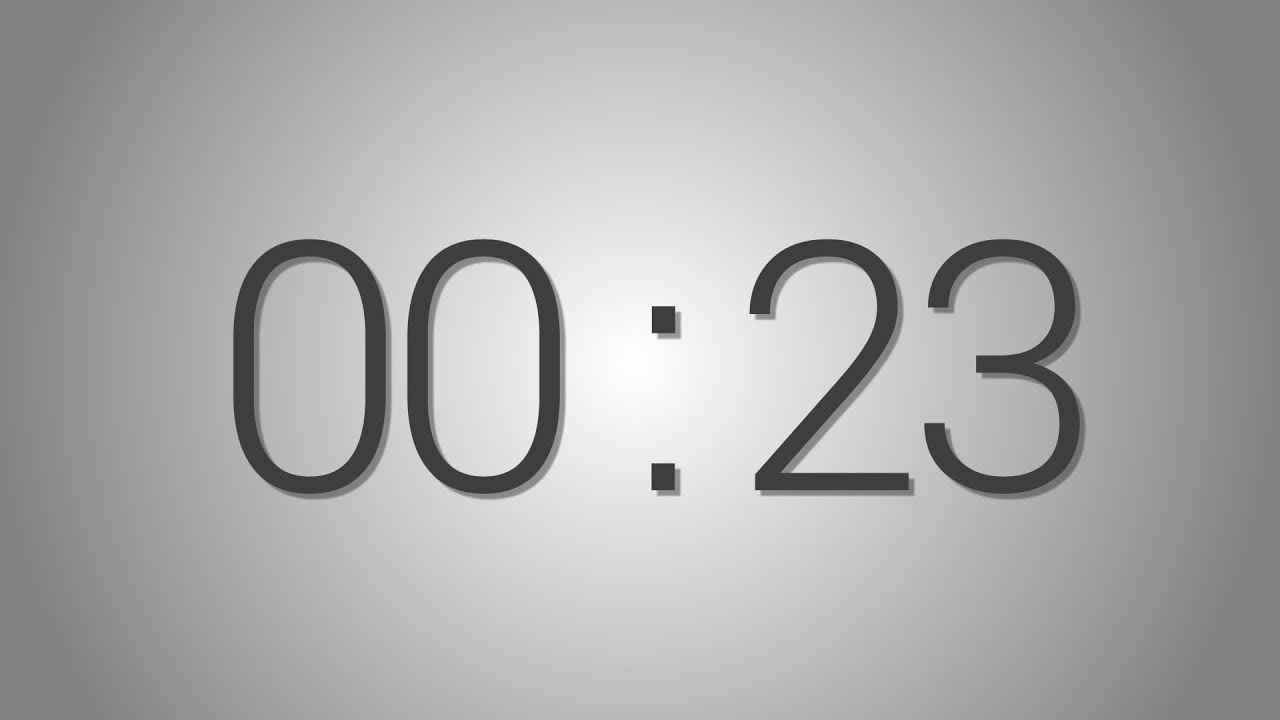23 Second Timer