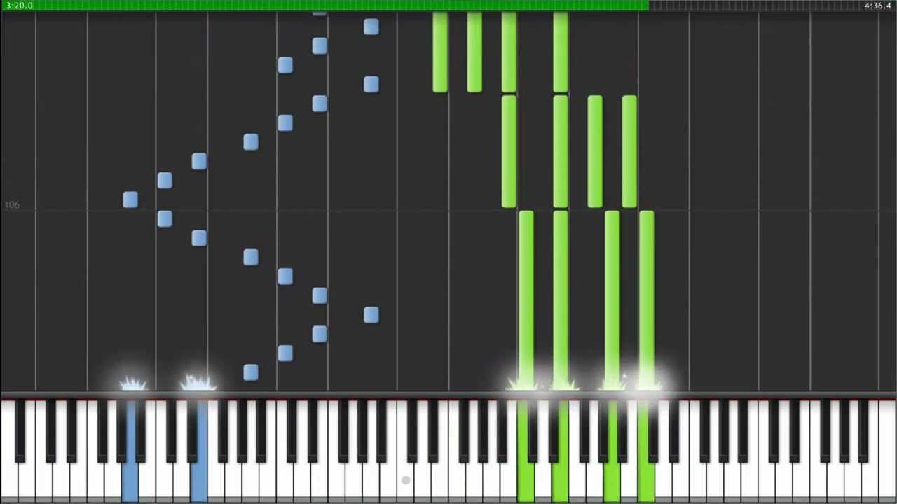 Time - Inception [Piano Tutorial] (Synthesia) - YouTube
