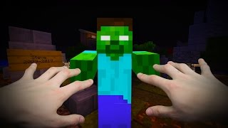 REALISTIC MINECRAFT - STEVE COMES BACK FROM THE DEAD!