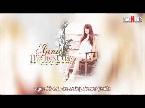 [Vietsub][Audio] Juniel - The Next Day (Brave Brothers's 10th Anniversary) {Banila Team}