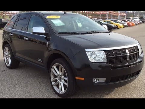 Used 2010 Lincoln Mkx Awd Indianapolis In All Wheel Drive Suv You