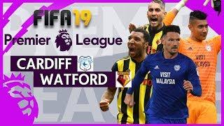 Cardiff vs Watford | FIFA 19 Premier League Gameweek 27 Highlights