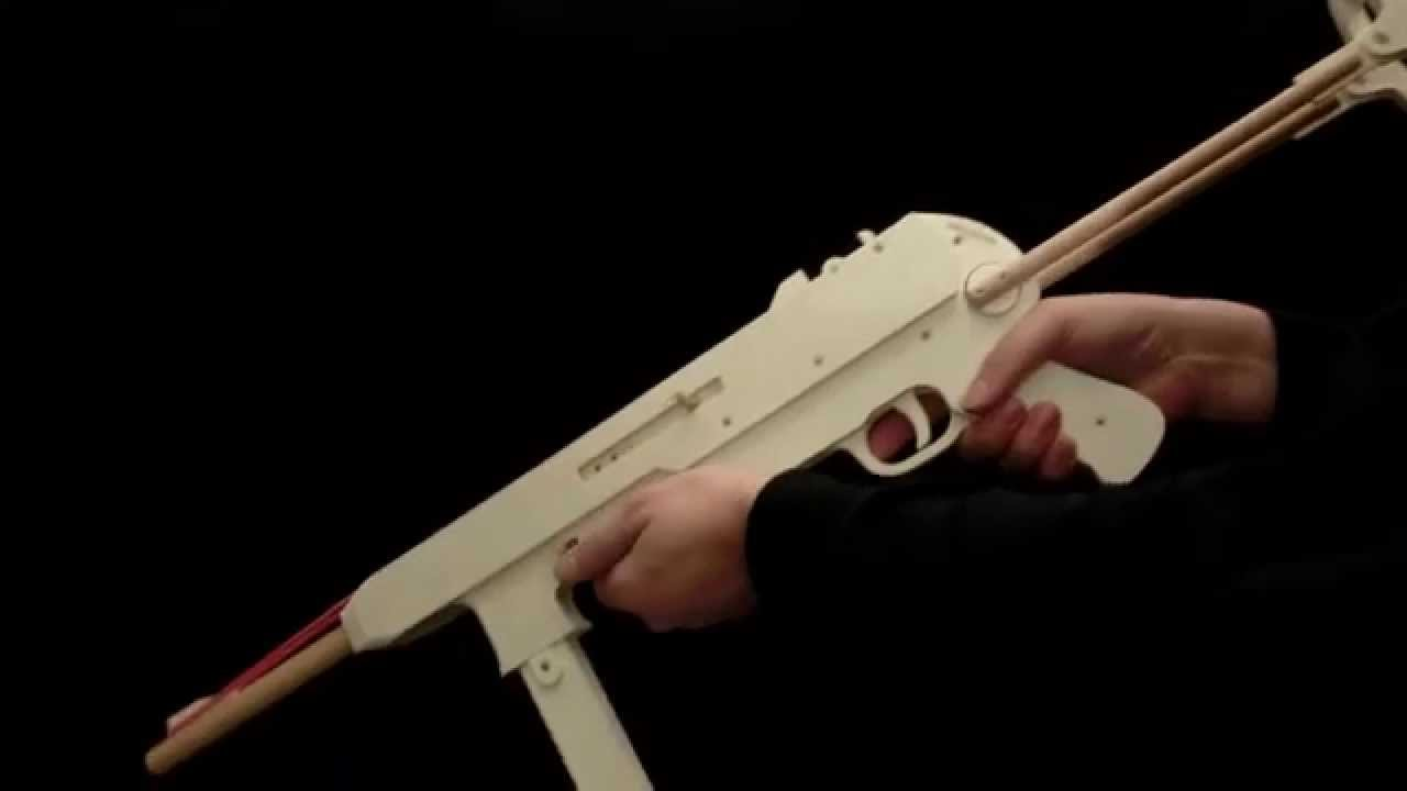 How to Make a Rubber Band Gun (10 Free Plans Inside