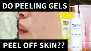 Do Peeling Gels Peel Off Your Skin? | Lab Muffin Beauty Science