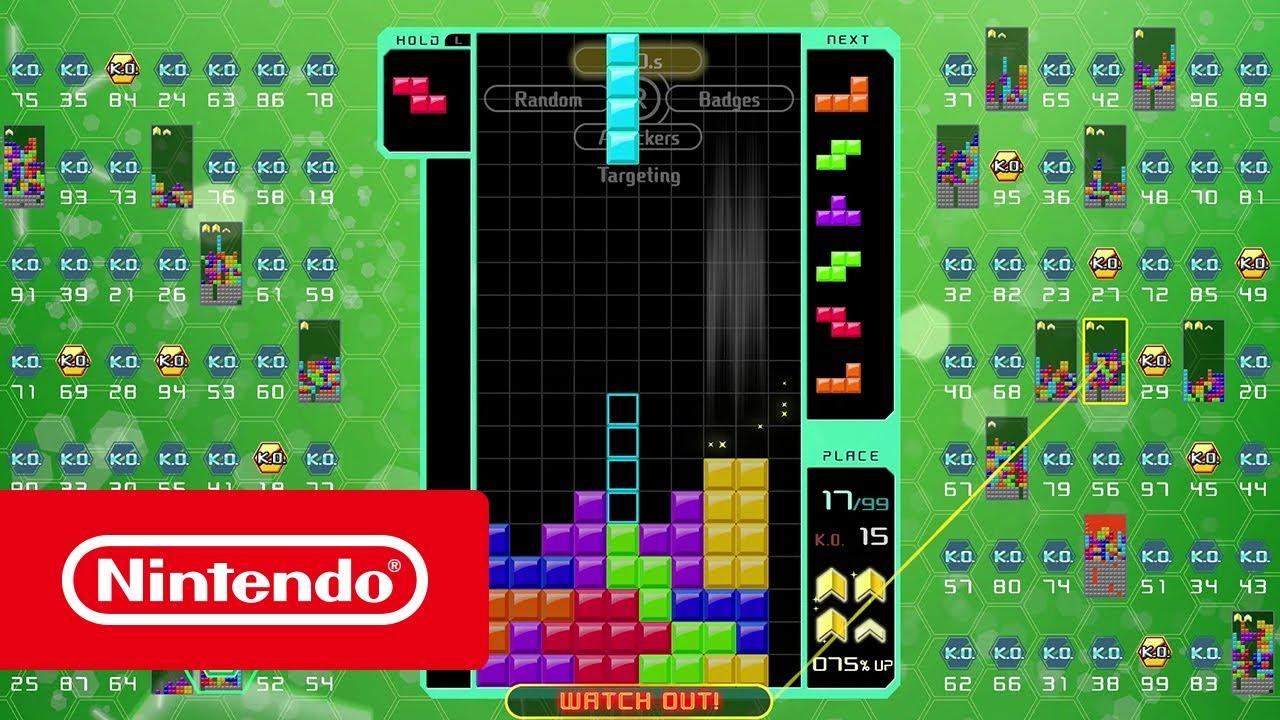TETRIS® 99 | Nintendo Switch download software | Games | Nintendo