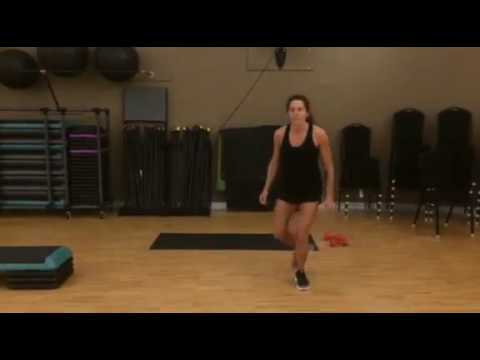 Best Leg Exercises for Women #8: Lateral Reverse Lunge