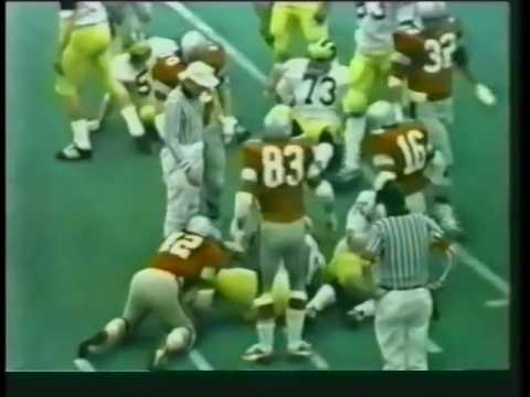 1972 Michigan @ Ohio State Speed Game