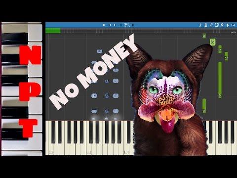 Galantis - No Money - Piano Tutorial
