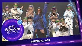 Roksana Wgiel - Anyone I Want To Be - Interval Act - Junior Eurovision 2019