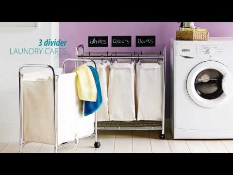Laundry hampers – Saving time in the Laundry