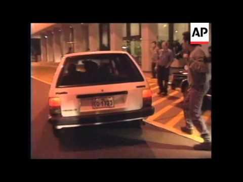 PERU: LIMA:  FATHER VISITS JAILED DAUGHTER LORI BERENSON