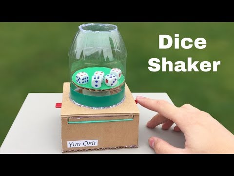 Download Youtube: How to Make Dice Shaker (Desktop Game) - DIY The Best Toy with Cubes