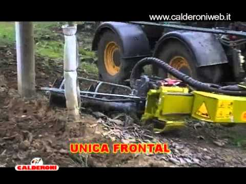 WWW.CALDERONIWEB.IT MACHINE AGRICOLTURE WINE FRUITS GRAPES  INTERCEPS INTER ROW CUTTER