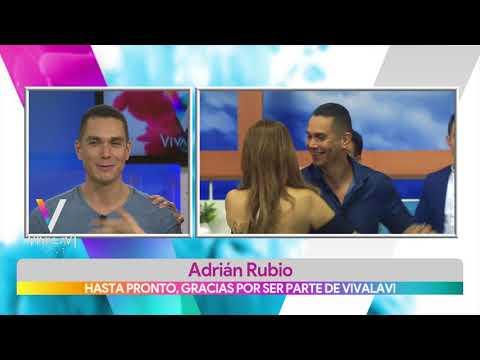 Se despide Adrián Rubio de Vivalavi