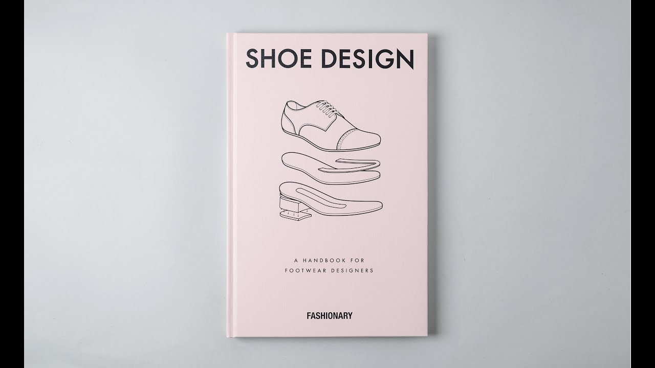Shoe design book by fashionary youtube for Design book