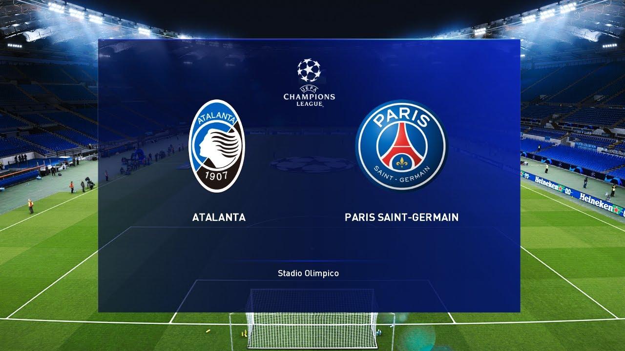 Atalanta Vs Psg Champions League 12 Aug 2020 Gameplay Youtube