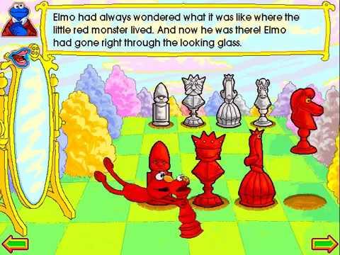 Elmo Through The Looking-Glass