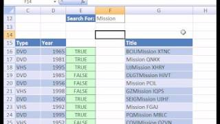 Excel Magic Trick #126: Macro: Advanced Filter Extract Text