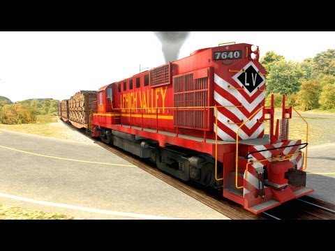LET´S PLAY Train Simulator 2013   Folge 92   Alco RS-11 on the road von Rob spielt