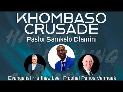 Khombaso Crusade video advert