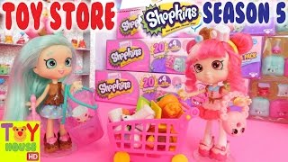 Shoppies buy Season 5 Shopkins at the TOY STORE!
