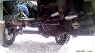 Работа тросовой кулисы УАЗ буханка (кулиса нового образца)