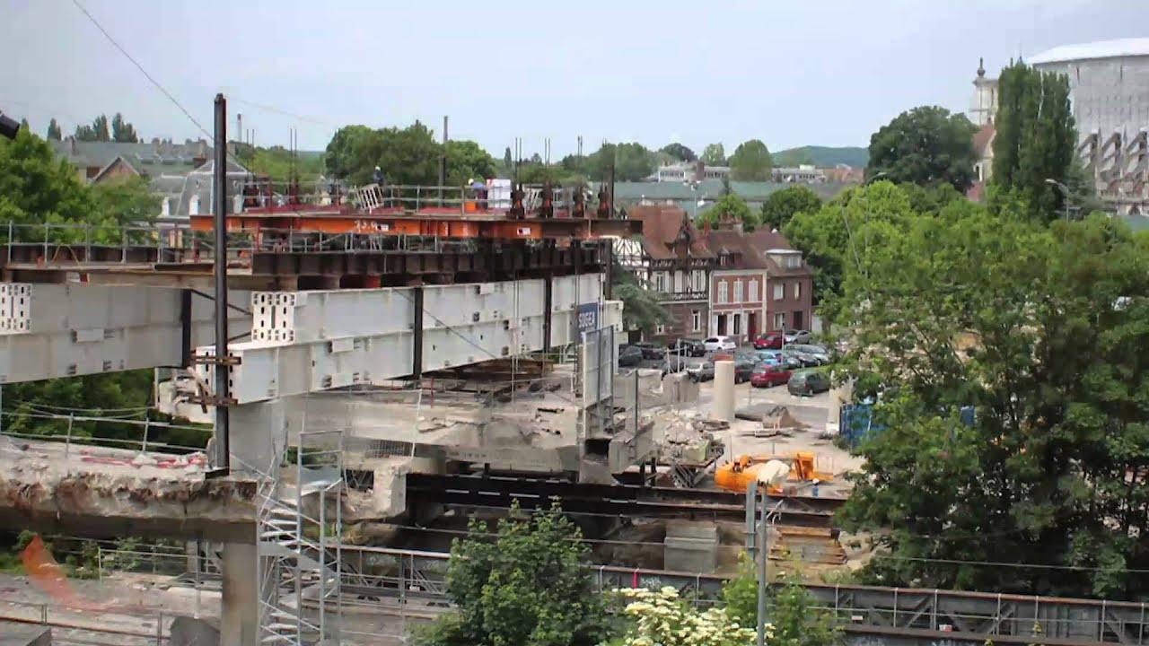 Beauvais le pont de paris histoire d 39 une reconstruction - Piscine tournesol beauvais ...