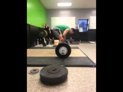 Crossfit Knoxville Barbell Club 110kg Snatch