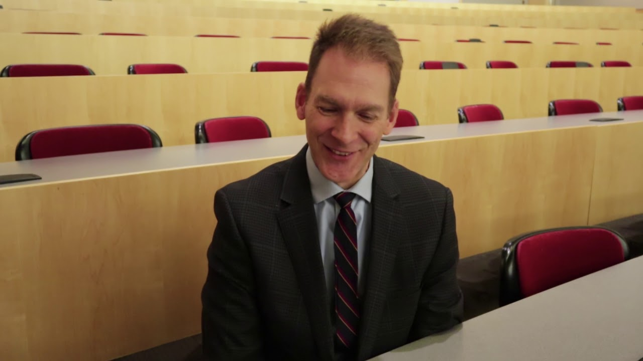 Dr  Kevin Ess talks about past and future research at the