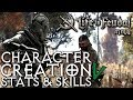 Starter Stats And Skills | Character Creation | Life Is Feudal MMO | Tutorial