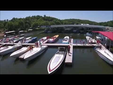 Cigarette Fun Run- Lake of the Ozarks 2015 Drone Video ------- by Jim Davis