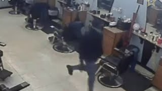 Surveillance video released in barber shop shooting