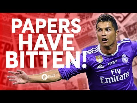 Ronaldo: Newspapers Bite! Tomorrow's Manchester United Transfer News Today! #14