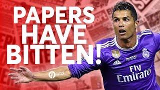 Ronaldo: Newspapers Bite! Tomorrow's Manchester United Transfer News Today! #14