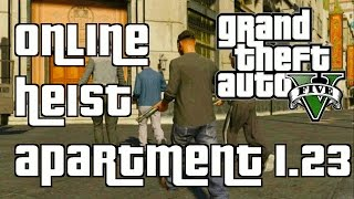 """GTA 5 Online NEW Heist Apartment Interior update 1.23 """"GTA 5 Online Heists DLC 1.23"""""""