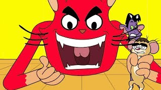Rat A Tat Catch If You Can Cat Vs Rat Brothers Funny Cartoons Chotoonz Kids Funny Cartoon Videos