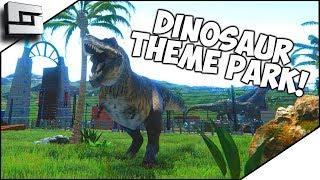 BUILD A DINOSAUR THEME PARK GAME! Mesozoica Gameplay