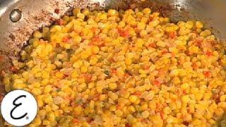 Emeril Kicks Up a Corn Maque Choux - Emeril Lagasse