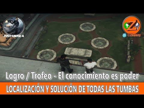 Just Cause 4: Localización y Solución de todas las Tumbas - Logro / Trofeo El conocimiento es poder