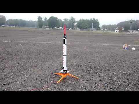 Estes Mercury Redstone rocket