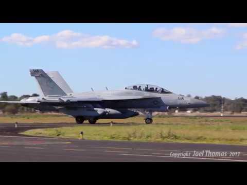 U.S. Navy VAQ-132 Scorpions at RAAF Base Amberley.