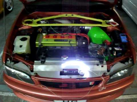 Toyota Corolla Modified >> AE110 LED mod circuit - YouTube